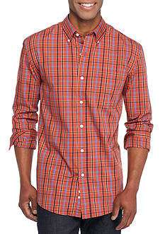 Saddlebred Long Sleeve Small Plaid Easy Care Shirt