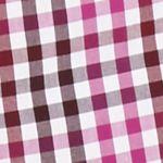 Men: Saddlebred Trends: Wine/Gray Saddlebred 1888 Long Sleeve Mini Gingham Poplin Shirt