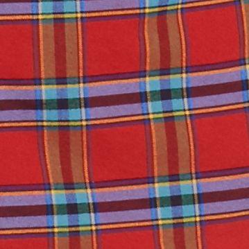 Men: Saddlebred Trends: Red Saddlebred 1888 Long Sleeve Tailored Plaid Oxford Shirt
