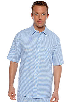 Saddlebred Gingham Camp Shirt