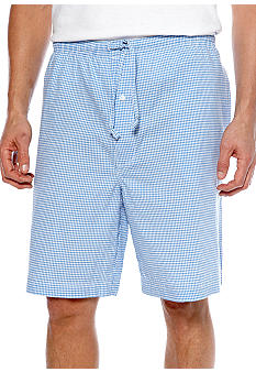 Saddlebred Gingham Sleep Shorts