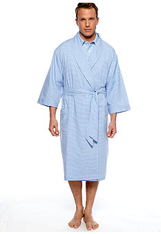 Saddlebred Gingham Robe