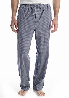 Saddlebred Gingham Woven Lounge Pants
