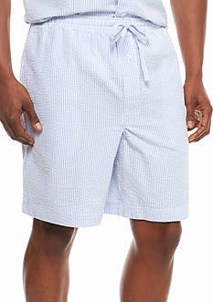 Saddlebred Seersucker Lounge Shorts