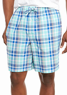 Saddlebred Plaid Lounge Shorts