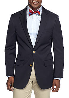Saddlebred Big & Tall Classic Fit Motion-Stretch Performance Traveler Blazer