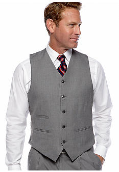 Saddlebred® Sharkskin Suit Separate Vest