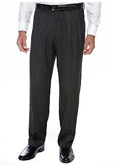 Saddlebred® Charcoal Suit Separate Pants
