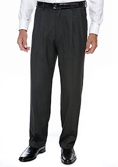 Saddlebred Classic Comfort Fit Charcoal Suit Separate Pants