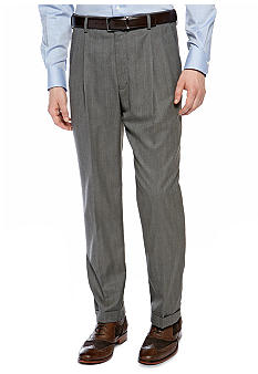 Saddlebred Herringbone Pants