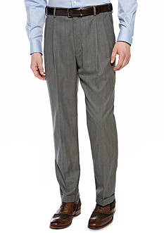Saddlebred Classic Comfort Fit Herringbone Suit Separate Pants