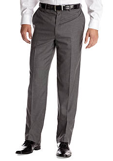 Saddlebred Classic Comfort Fit Gray Suit Separate Pants