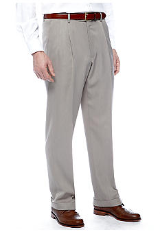 Saddlebred Medium Taupe Stria Suit Separate Pants
