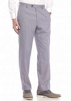 Saddlebred Classic-Fit Blue Tic Suit Separate Pants