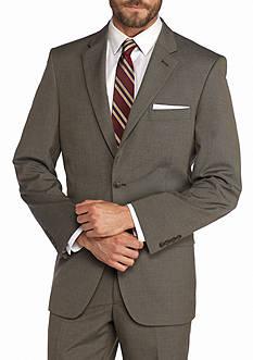 Saddlebred Classic-Fit Brown Suit Separate Coat
