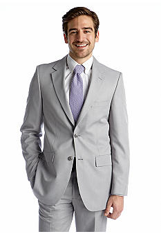Saddlebred Light Gray Stria Suit Separate Coat