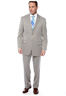Saddlebred Medium Taupe Stria Suit Separate Coat