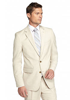 Saddlebred Classic-Fit Light Tan Suit Separate Coat