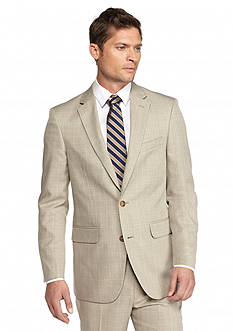 Saddlebred Tan Plaid Suit Separate Coat