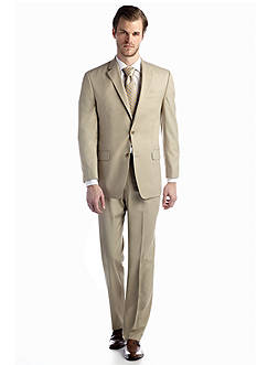 MICHAEL Michael Kors Tan Solid Suit