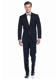 MICHAEL Michael Kors Classic Fit Navy Solid Suit