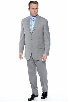 MICHAEL Michael Kors Gray Windowpane Suit