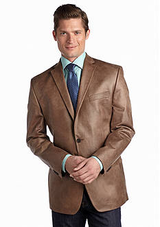MICHAEL Michael Kors Faux Leather Sport Coat