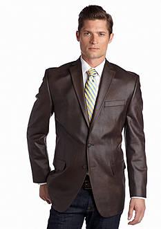 MICHAEL Michael Kors Faux Leather Sport Coat