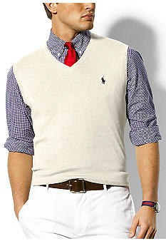 Pima Cotton Sweater Vest