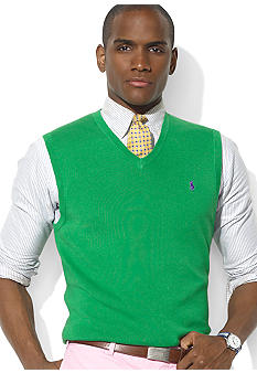 Polo Ralph Lauren Pima Cotton V-Neck Sweater Vest