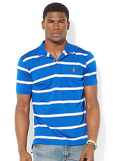 Polo Ralph Lauren Striped Performance Mesh Polo Shirt