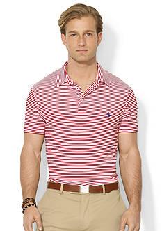 Polo Ralph Lauren Striped Airflow Polo Shirt