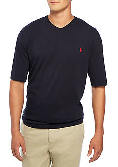 Polo Ralph Lauren Big & Tall Medium-Fit Short-Sleeved Cotton Jersey V-Neck
