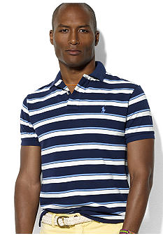 Polo Ralph Lauren Classic-Fit Multi-Stripe Mesh Polo