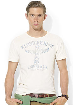 Polo Ralph Lauren Classic-Fit Camp Crewneck T-Shirt
