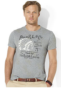 Polo Ralph Lauren Classic-Fit Chief Crewneck T-Shirt