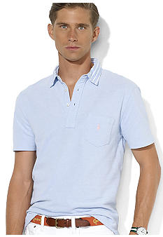 Polo Ralph Lauren Oxford Mesh Pocket Polo