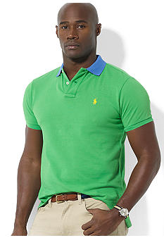 Polo Ralph Lauren Big & Tall Contrast Collar Polo