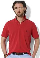 Polo Ralph Lauren Classic-Fit Solid Mesh Pocket Polo