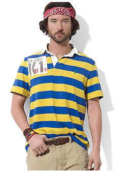 Polo Ralph Lauren Custom-Fit Striped River-Themed Rugby