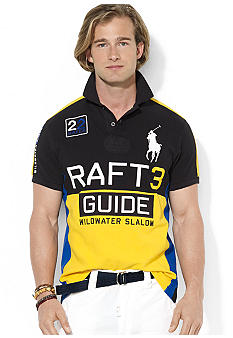 Polo Ralph Lauren Custom-Fit River Slalom Mesh Polo