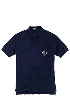 Polo Ralph Lauren Classic-Fit Monogram Mesh Polo