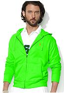 Polo Ralph Lauren Full-Zip Cotton Mesh Hoodie