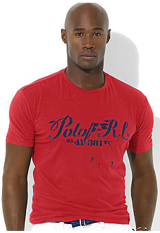 Polo Ralph Lauren Big & Tall Classic-Fit Short-Sleeved Cotton