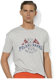 Polo Ralph Lauren Crossed-Flags Crewneck T-Shirt