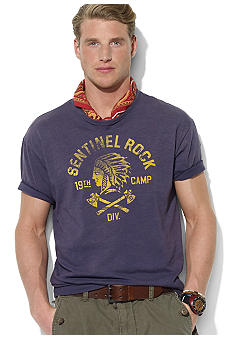 Polo Ralph Lauren Classic-Fit Graphic Chief T-Shirt