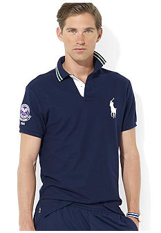 Polo Ralph Lauren Wimbledon Ball Boy Short-Sleeved Sports Piqu Polo