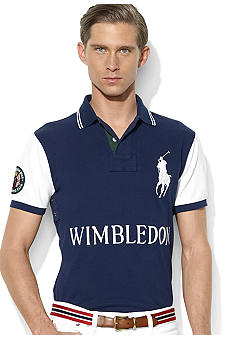 Polo Ralph Lauren Wimbledon Custom-Fit Short-Sleeved