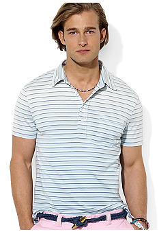 Polo Ralph Lauren Striped Knit Jersey Polo