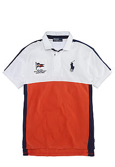 Polo Ralph Lauren Big & Tall Classic-Fit Color-Blocked Coastal Rescue Polo